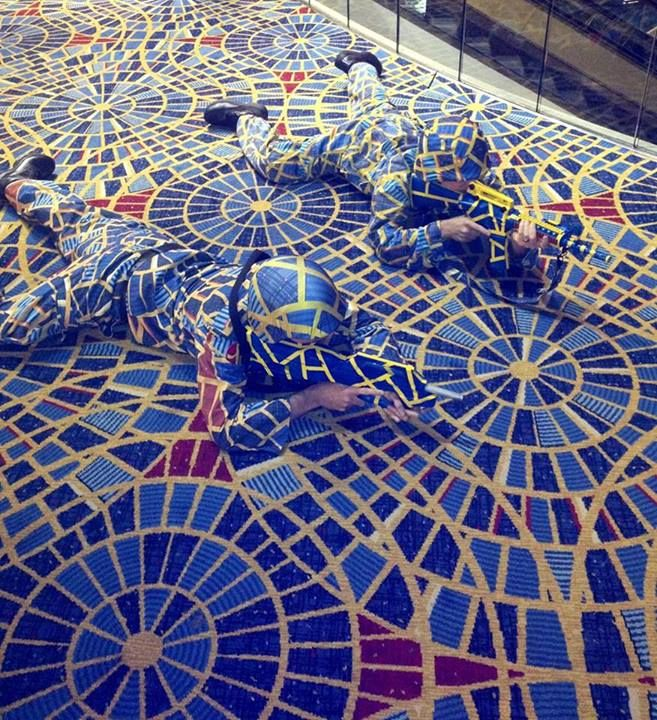 Rug Designer Threatens Cosplayers With Legal Action Hotel Carpet Dragoncon Pics