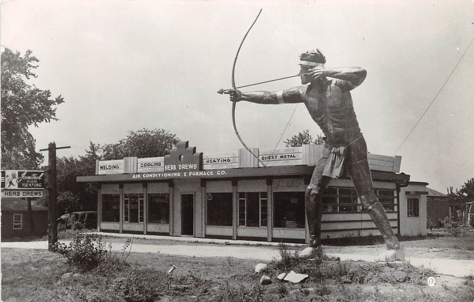 Danville Il This Copper Indian Has Been Dedicated To Cheif