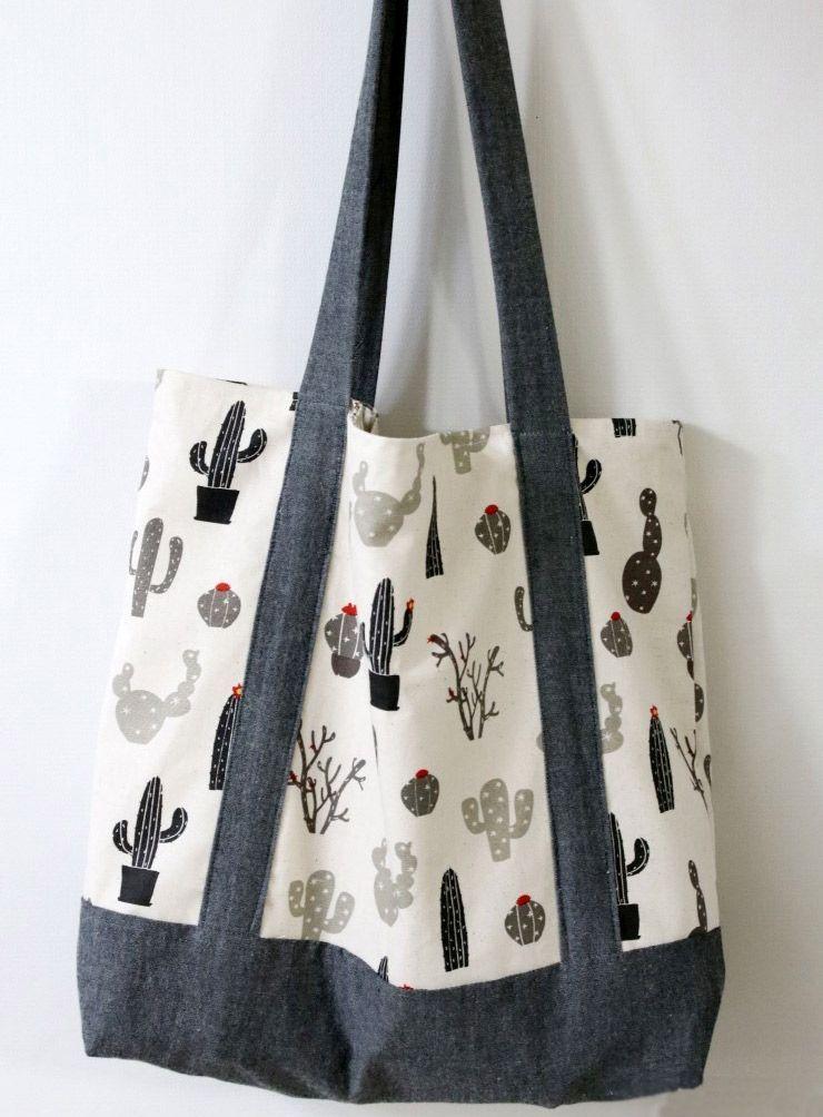 Gratis Taschen Schnittmuster - Eco-Friendly Tote Bag | Schnittmuster ...