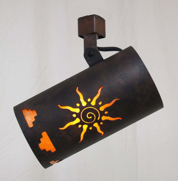 Copper Canyon Southwestern Track Lighting