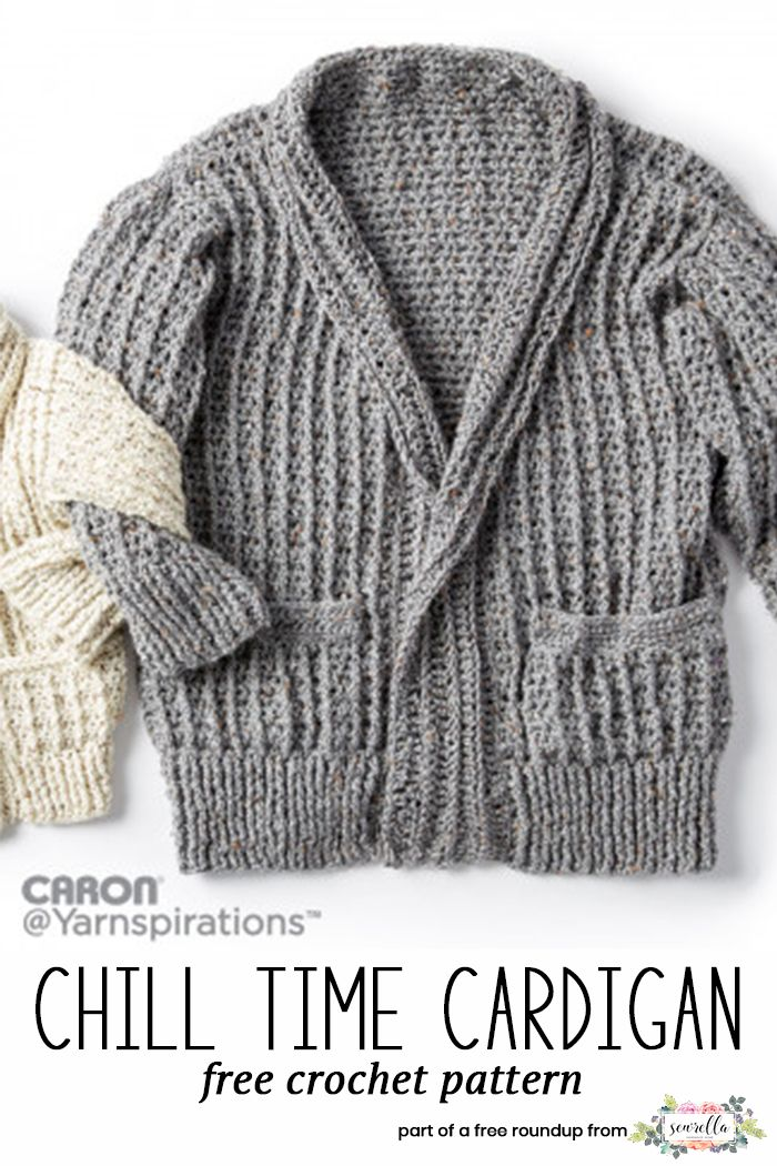 Husband-Approved Free Crochet Sweater Patterns | Free crochet, Free ...