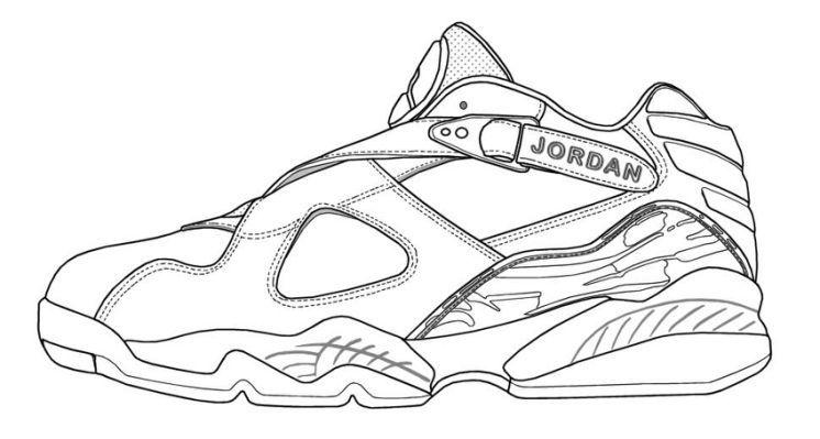 air jordan retro coloring pages | Air jordans, Jordan ...