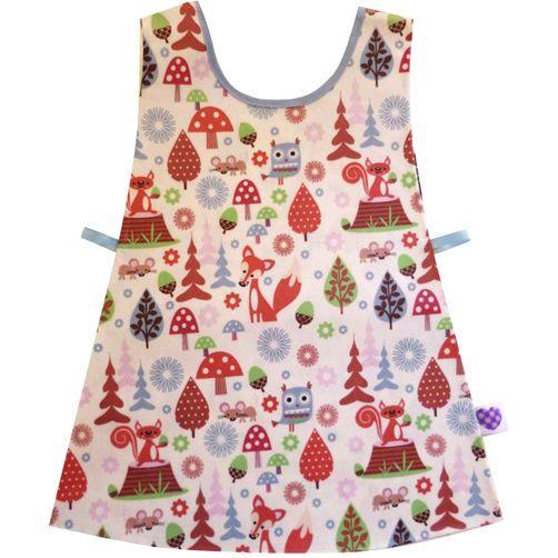 KIDS TABARD Craft Painting Apron Nursery Feeding Birthday Christmas Party Gift
