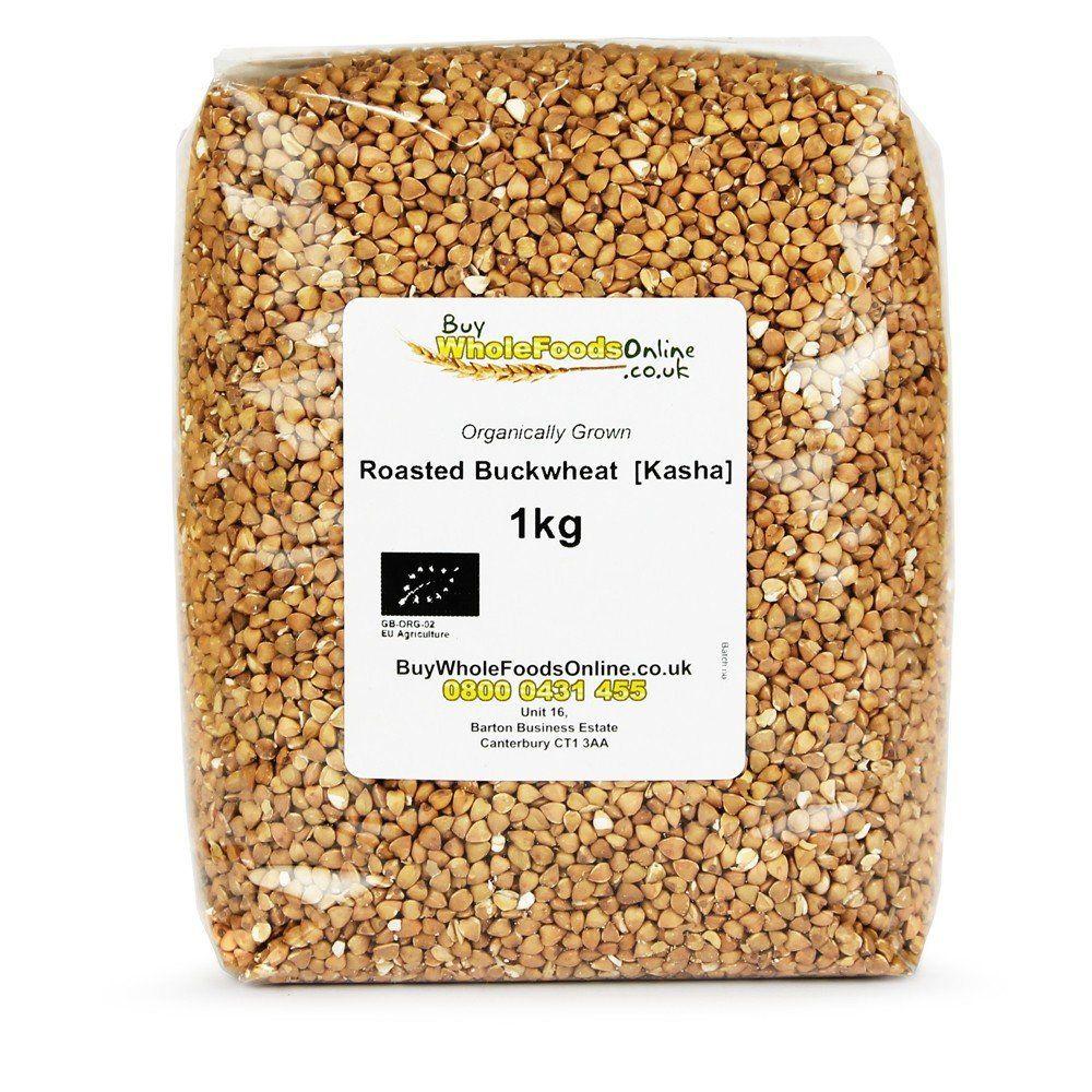 Organic Buckwheat  Roasted [Kasha]