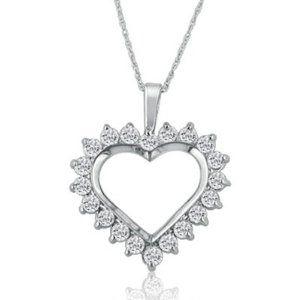 14k white gold heart diamond pendant 024 cttw h color si3 14k white gold heart diamond pendant 024 cttw h color si3 clarity average fine jewelry from padis jewelry san francisco ca aloadofball Choice Image