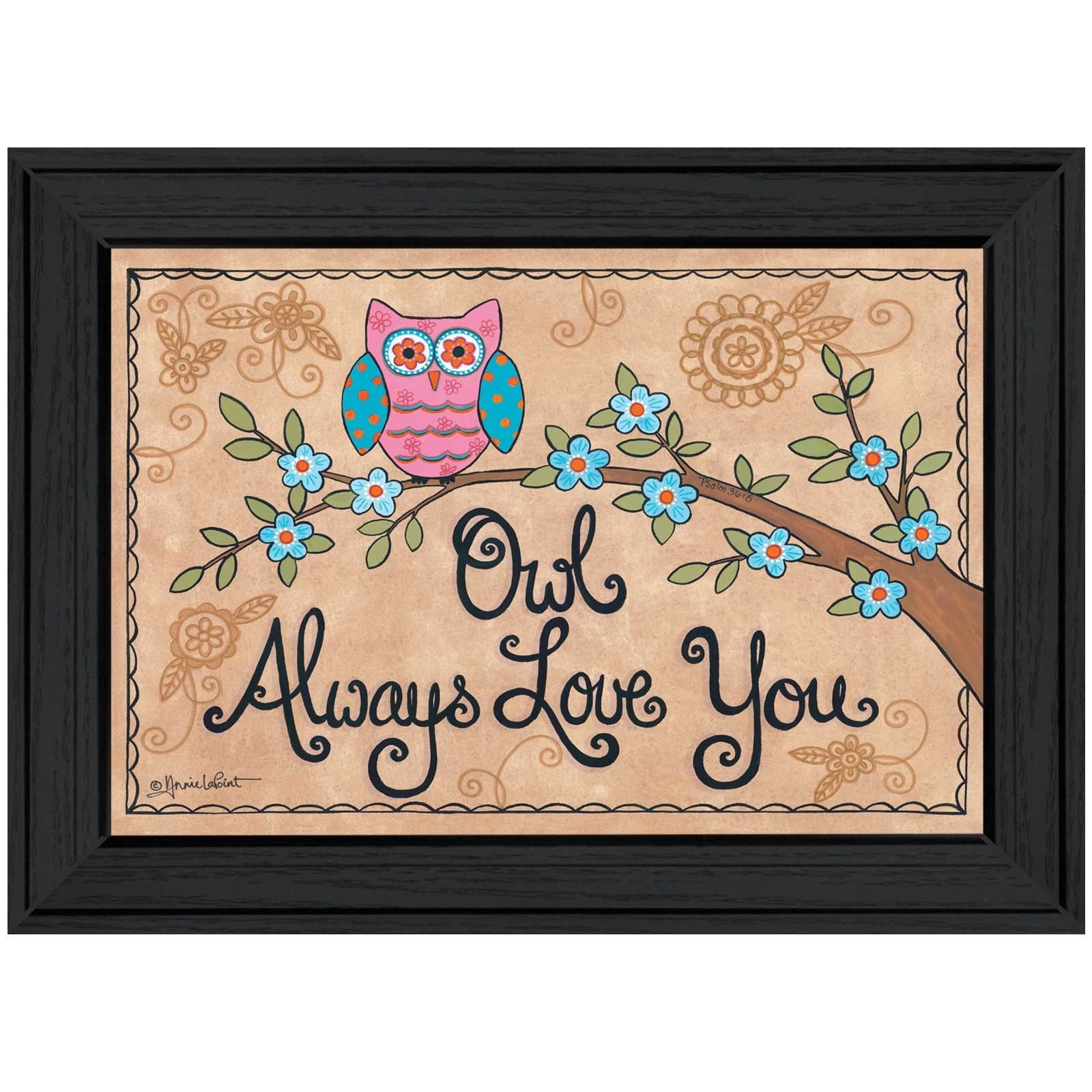 Millwork Engineering Owl Always Love You by Annie Lapoint ...
