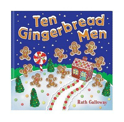 Ten Gingerbread Men (Moulded Counting Books), Galloway, Ruth 1848571747 | Gingerbread  man book, Gingerbread man, Gingerbread reading