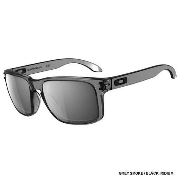 Oakley Holbrook Sunglasses - Grey Smoke / Black Iridium Lens OO9102-24 -  Extreme Supply