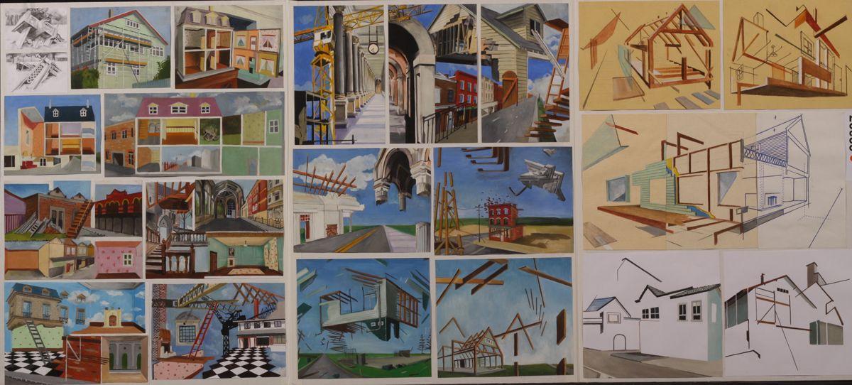 Deconstructivist Painting