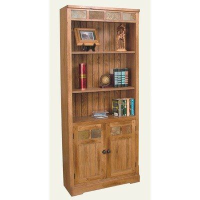 Sedona Bookcase W Doors By Sunny Designs 548 00