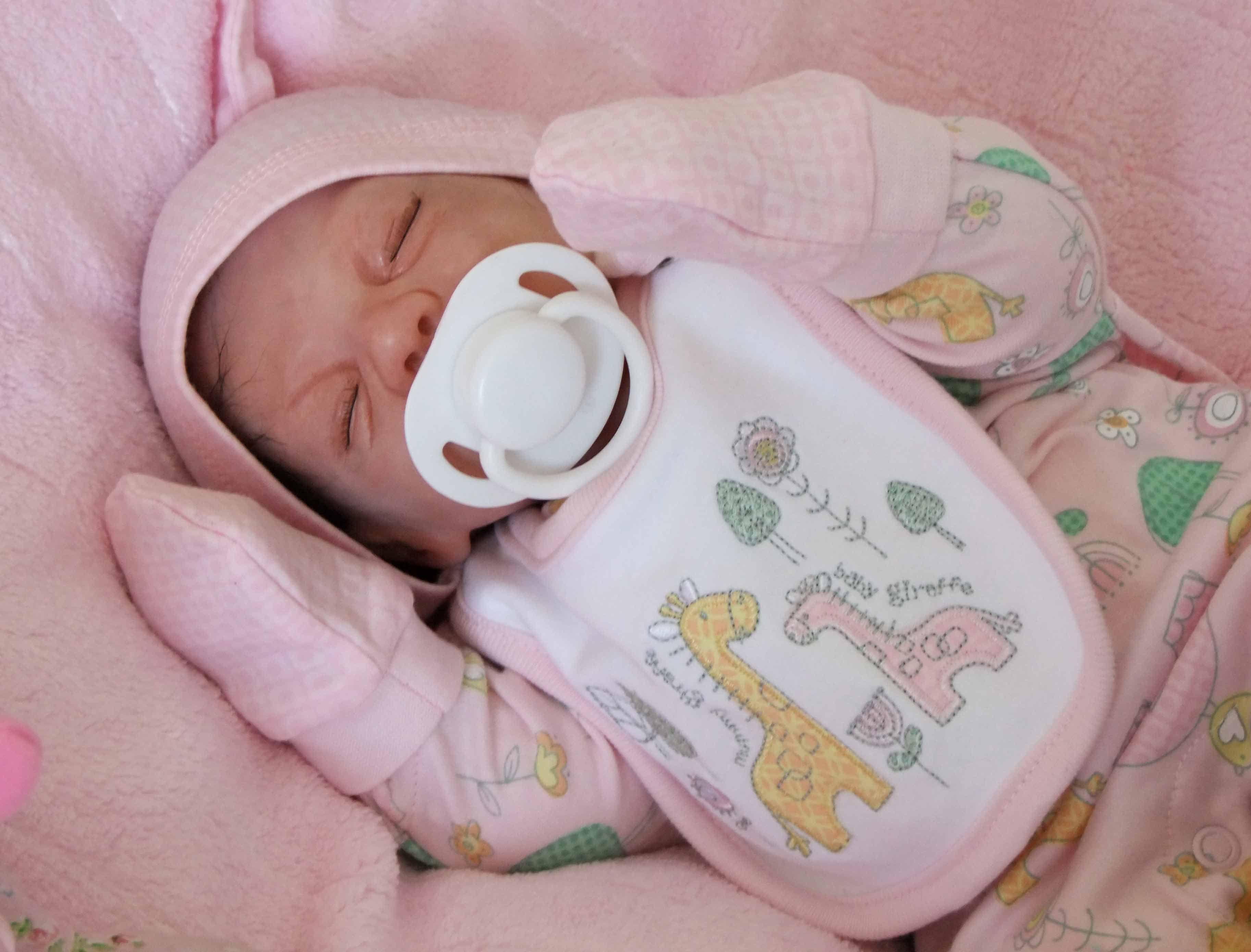 Reborn Premature Baby Rhianna Helen's Reborn Baby Dolls