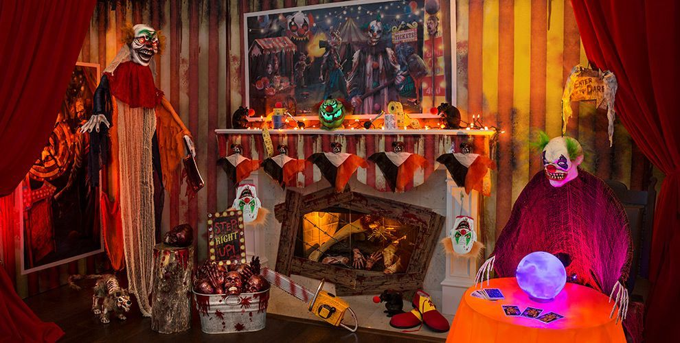 Carnival Halloween Party Ideas.Creepy Carnival Halloween Decorations Ashlyn S 9th