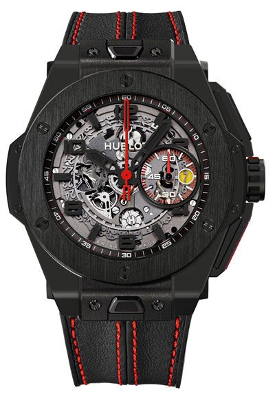 Hublot Big Bang Ferrari Ceramic Watch Baselworld 2013 Preview: Hublot Big Bang Ferrari Watches