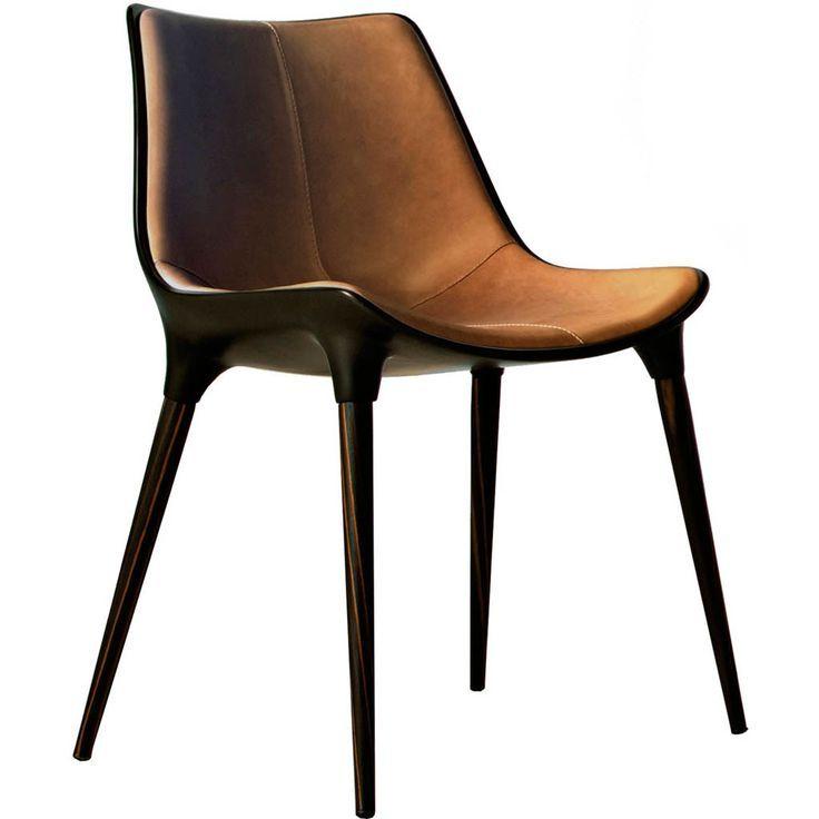 modloft langham dining chair leather   matthew izzo   modloft