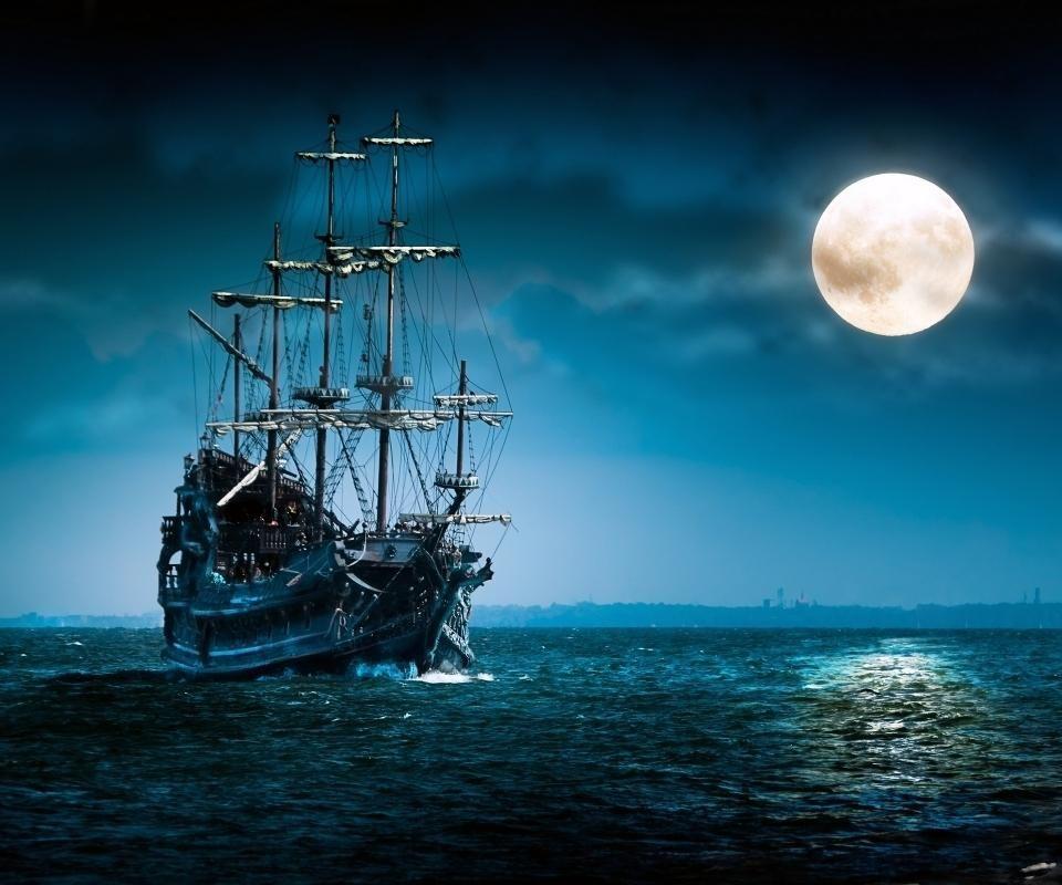 Black Pearl Old Sailing Ships Sailing Ghost Ship Black pearl ship wallpaper hd