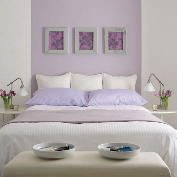 Purple And White Bedroom Combination Ideas Lilac Bedroom