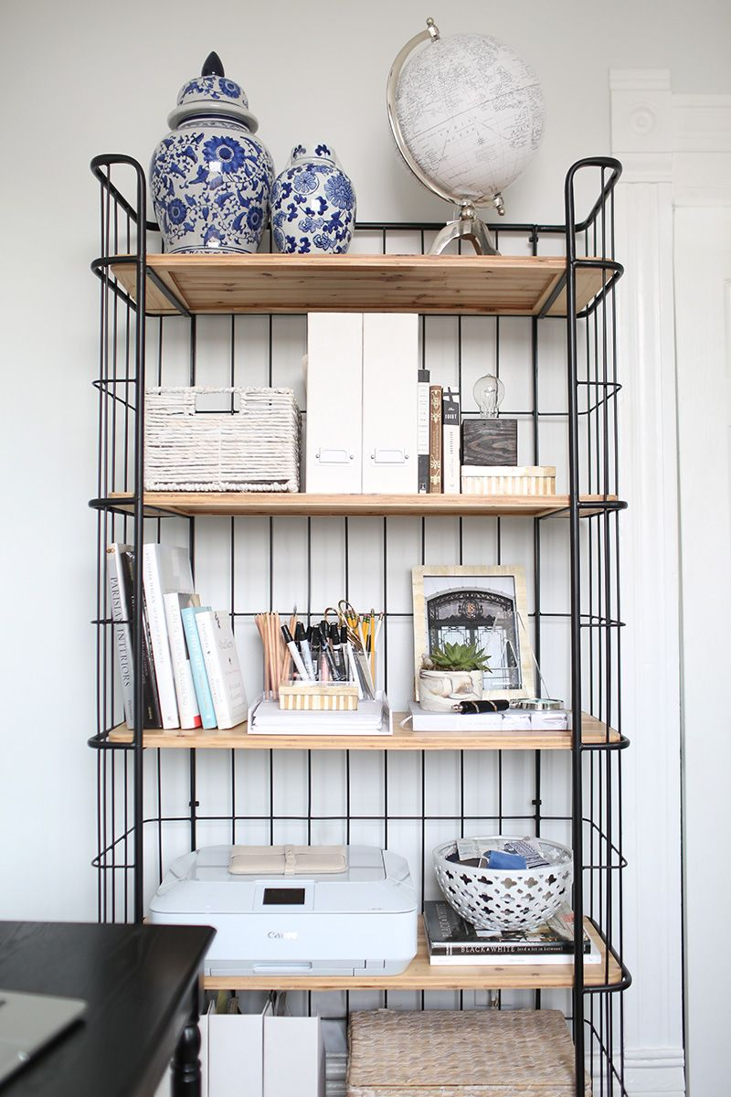 Organizing a Home Office Before & After | Organizing, Organisations ...