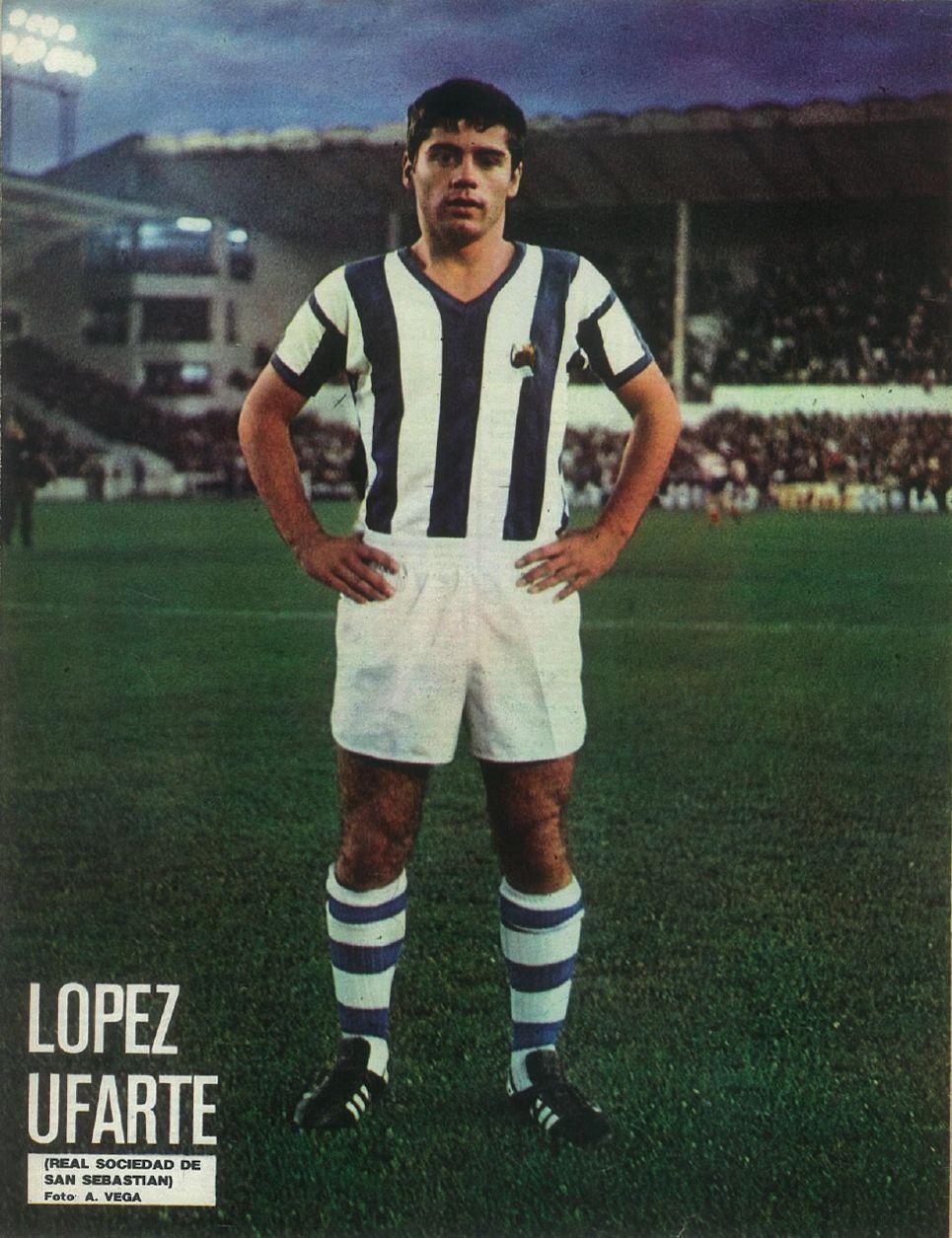 128 López Ufarte (Real Sociedad de San Sebastián). (con