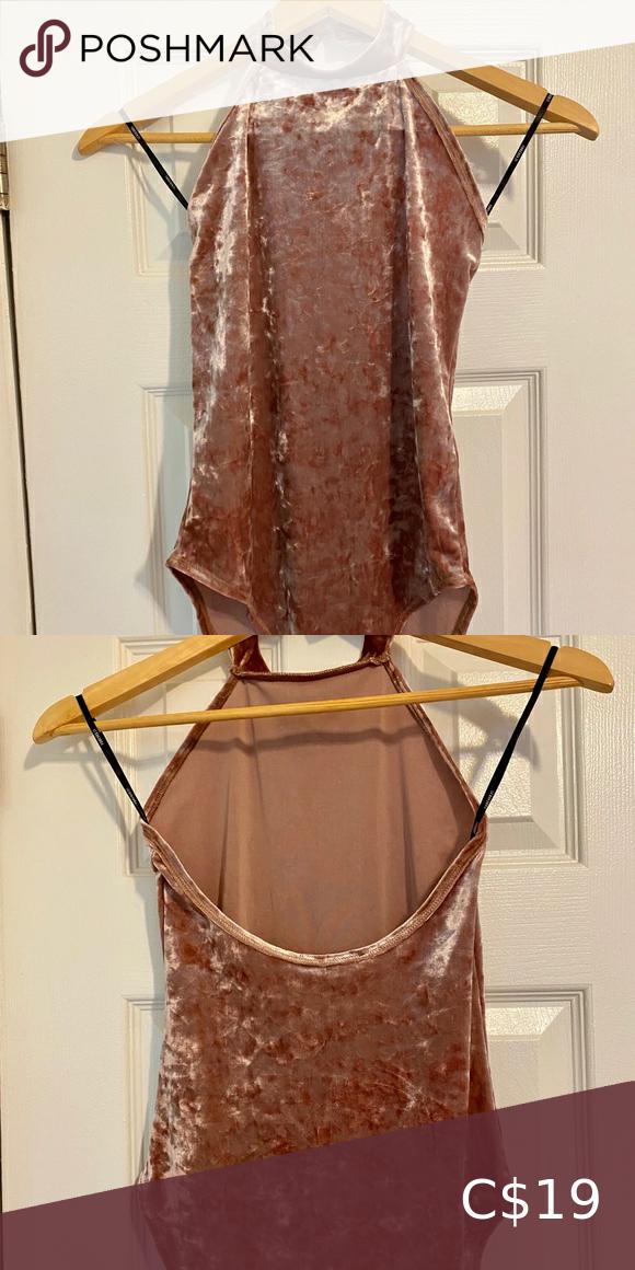 Crushed Velvet Bodysuit