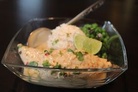 The Project Table: Coconut Curry Crock Pot Chicken