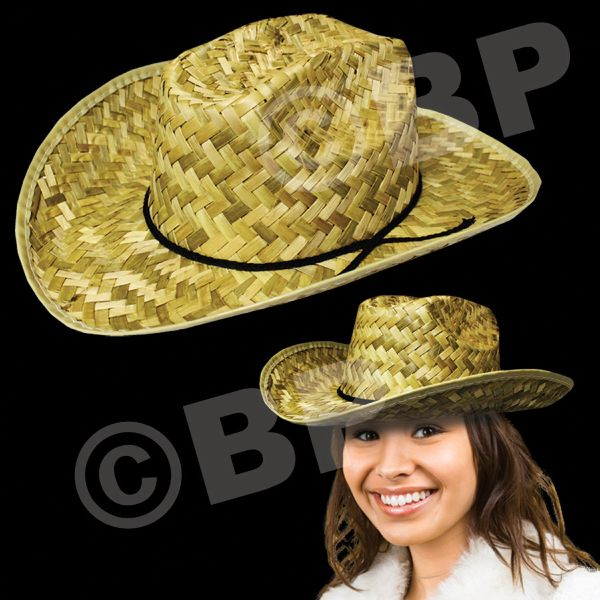 Raise the roof with this great-looking cowboy hat! This adult-sized wide 84f18b8e272