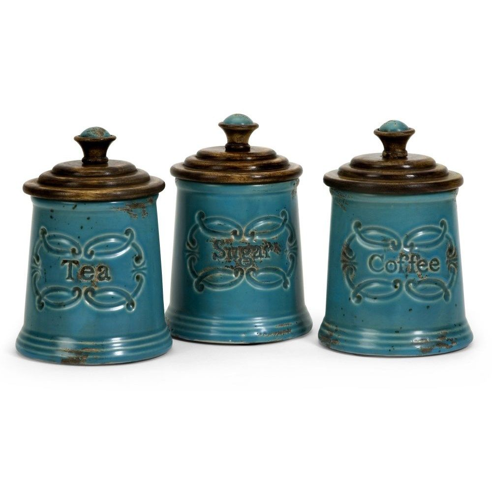 Imax Worldwide 5506-3 Set of 3 Provincial Canisters   KITCHEN ...