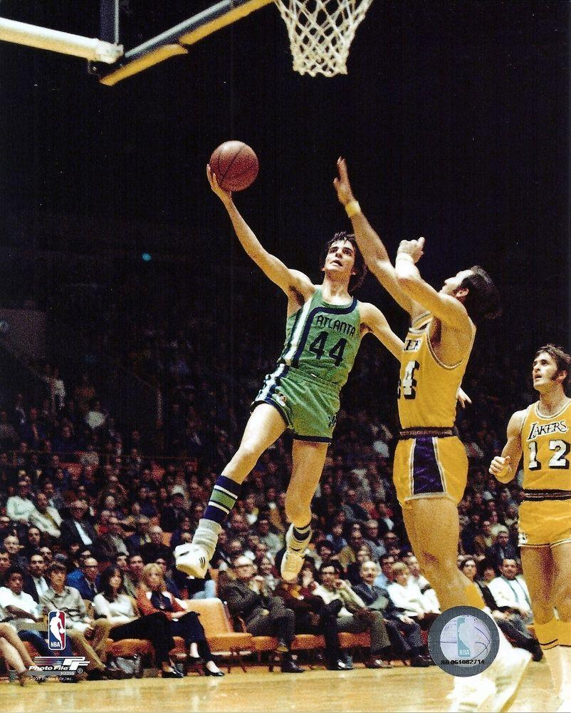 Pete Maravich Atlanta Hawks 1970–1974 Basketball