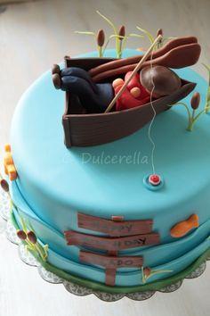 The lazy fisherman cake   Flickr - Photo Sharing!