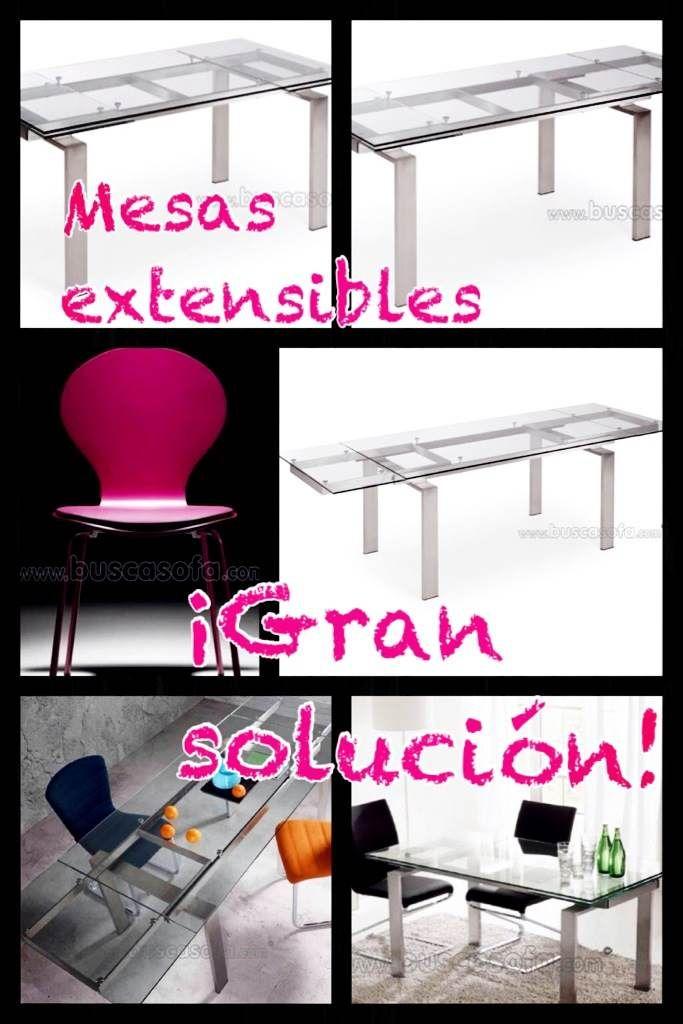 Grandes soluciones para espacios peque os mesas que nos ofrecen sacar partido a espacios - Soluciones para espacios pequenos ...