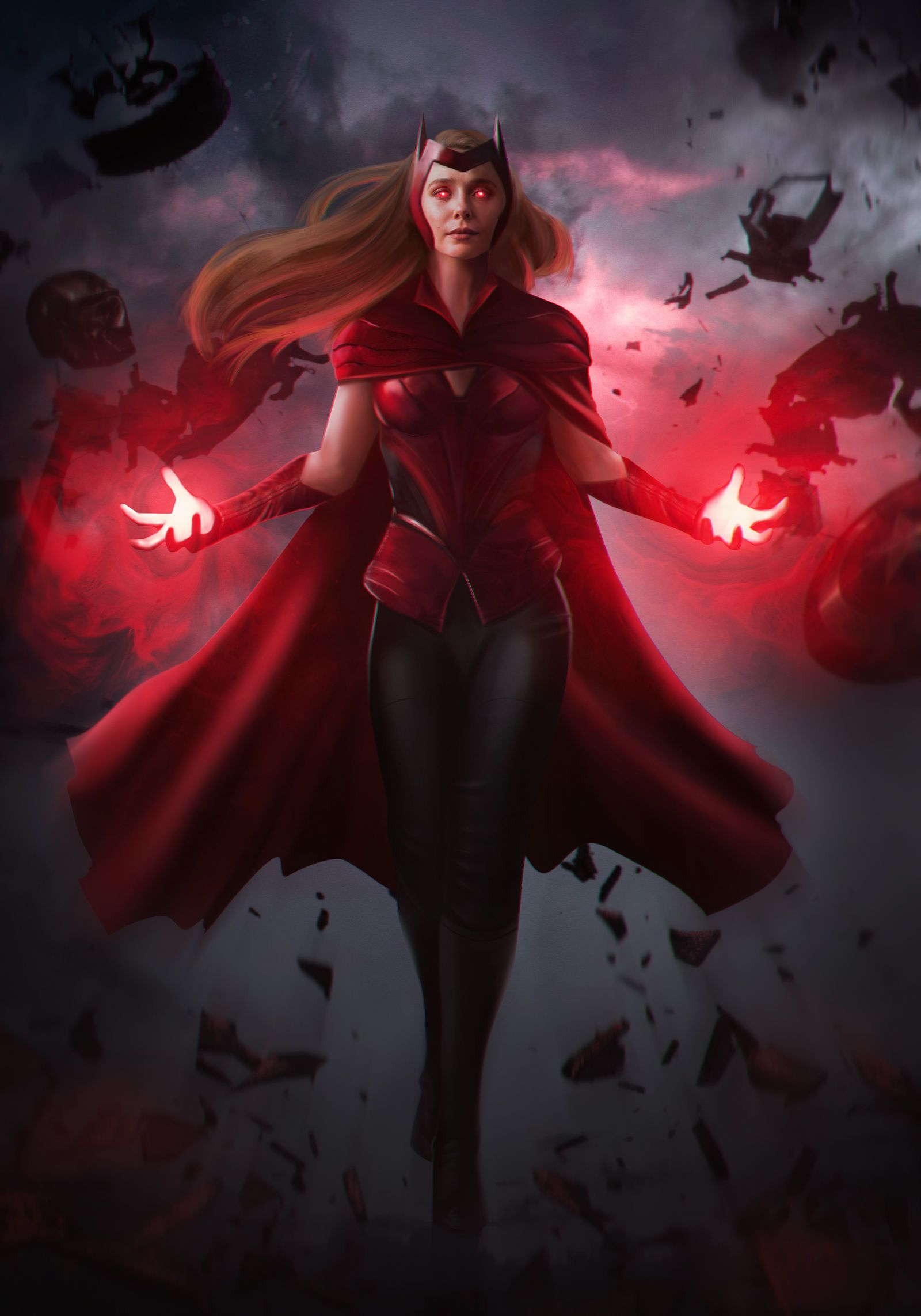The Scarlet Witch by MizuriAU on DeviantArt