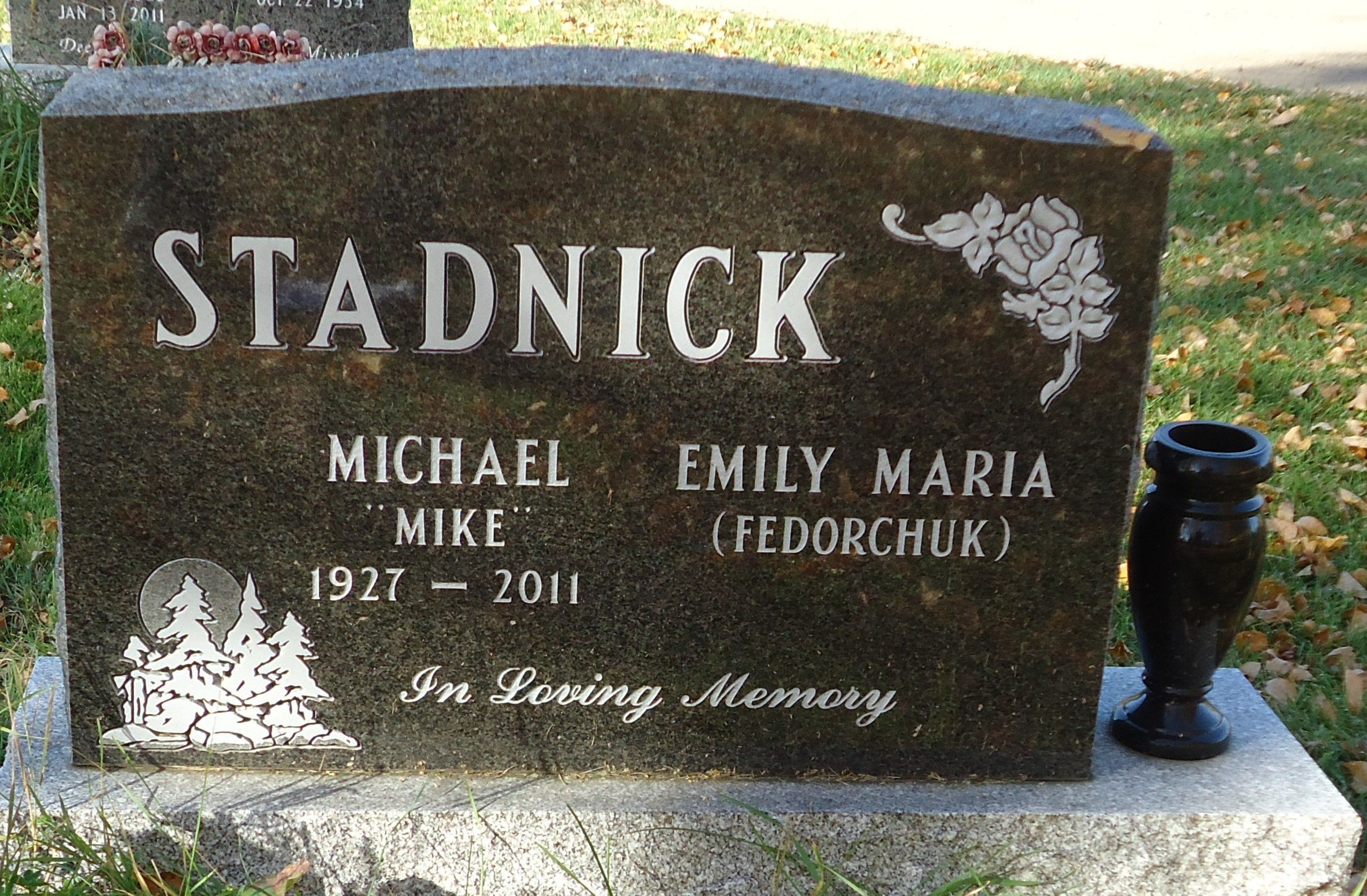 Mike Stadnick     Find A Grave Photos  FamilyGone but