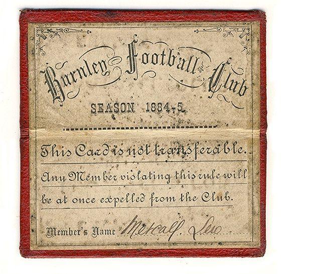 Football fan gifts world's oldest season ticket back to club