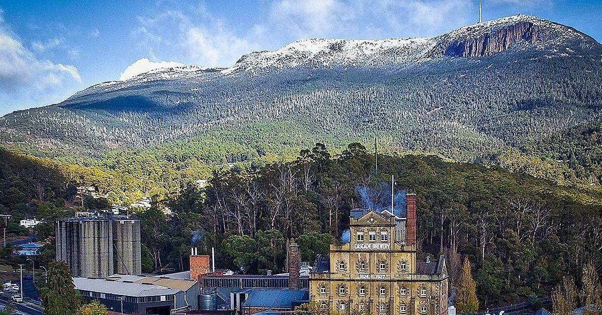 Today's picture comes from Jason. Rugged mountains stand tall behind South Hobart, a suburb of the capital city of Tasmania.       If you hadn't already seen or heard, it