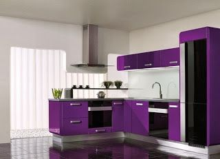 meja tv minimalis warna ungu - lemariweuh