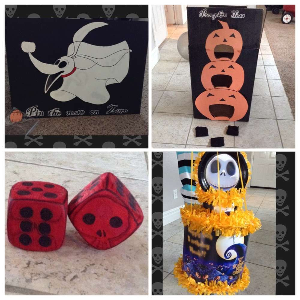 Nightmare Before Christmas Birthday Party Ideas Nightmare Before