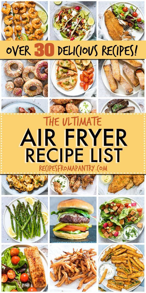 Air Fryer Recipes Archives – Recipes From A Pantry