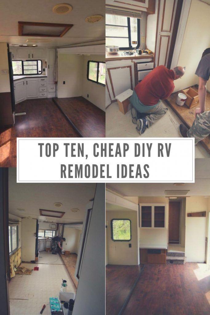 Top Ten Cheap DIY RV Remodel Ideas