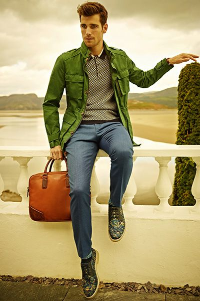 Ted Baker: Men's Weekend Casual Style