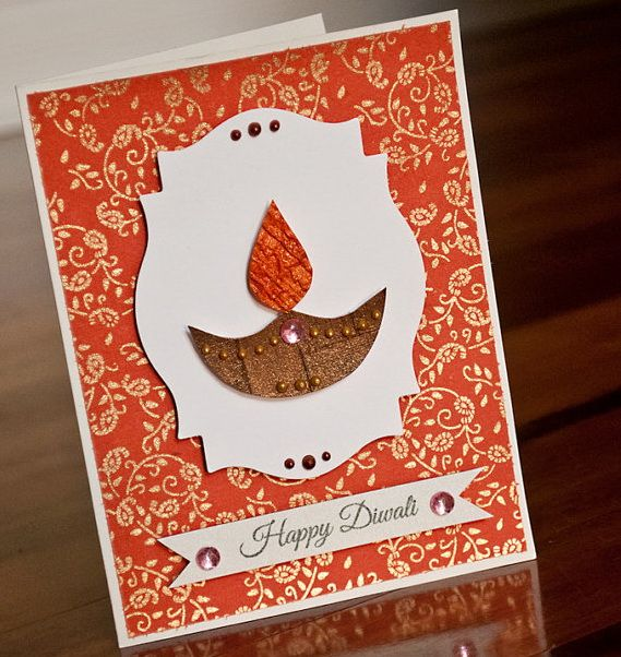 Diwali Homemade Greeting Cards Ideas Family Holiday Handmade Diwali Greeting Cards Diwali Greeting Cards Diwali Cards