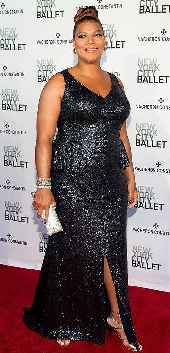 Queen Latifah Plus Size Curvy Red Carpet Celebrity Fashion Plus