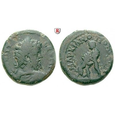 Römische Provinzialprägungen, Thrakien-Donaugebiet, Markianopolis, Septimius Severus, Bronze 193-211, f.ss: Thrakien-Donaugebiet,… #coins