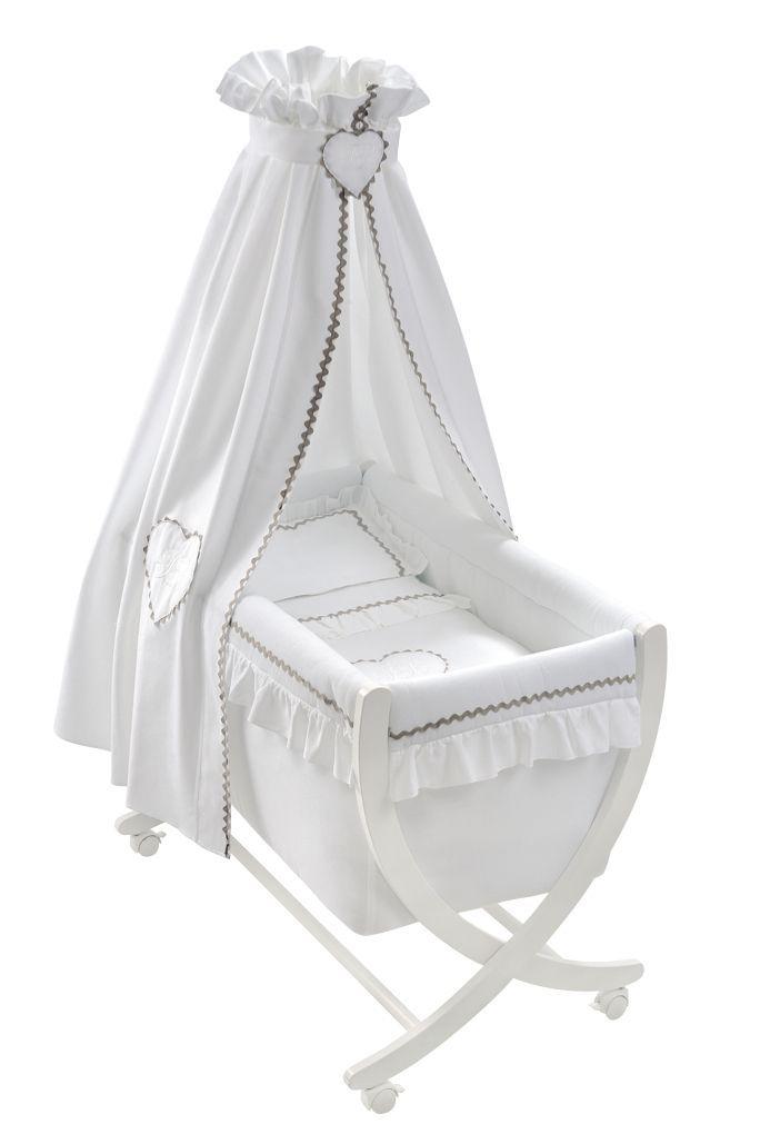 berceau b b emma blanc de nougatine inspiration emma blanc pinterest berceau b b. Black Bedroom Furniture Sets. Home Design Ideas