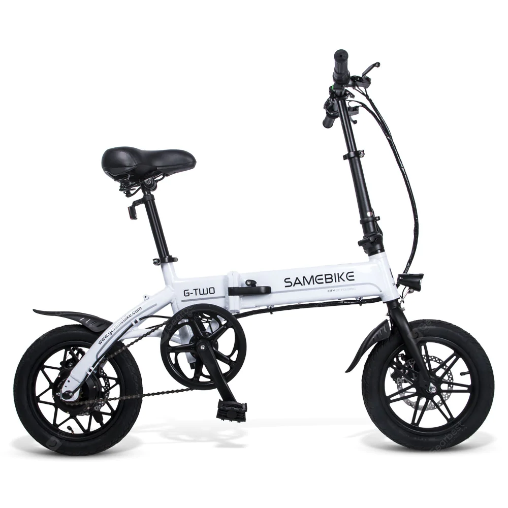 Samebike Yinyu14 Smart Folding Bicycle Moped Electric Bike E Bike