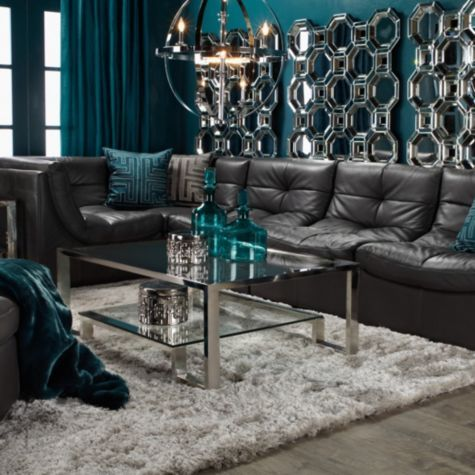 Cloud Modular Sectional Grey From Z Gallerie Teal