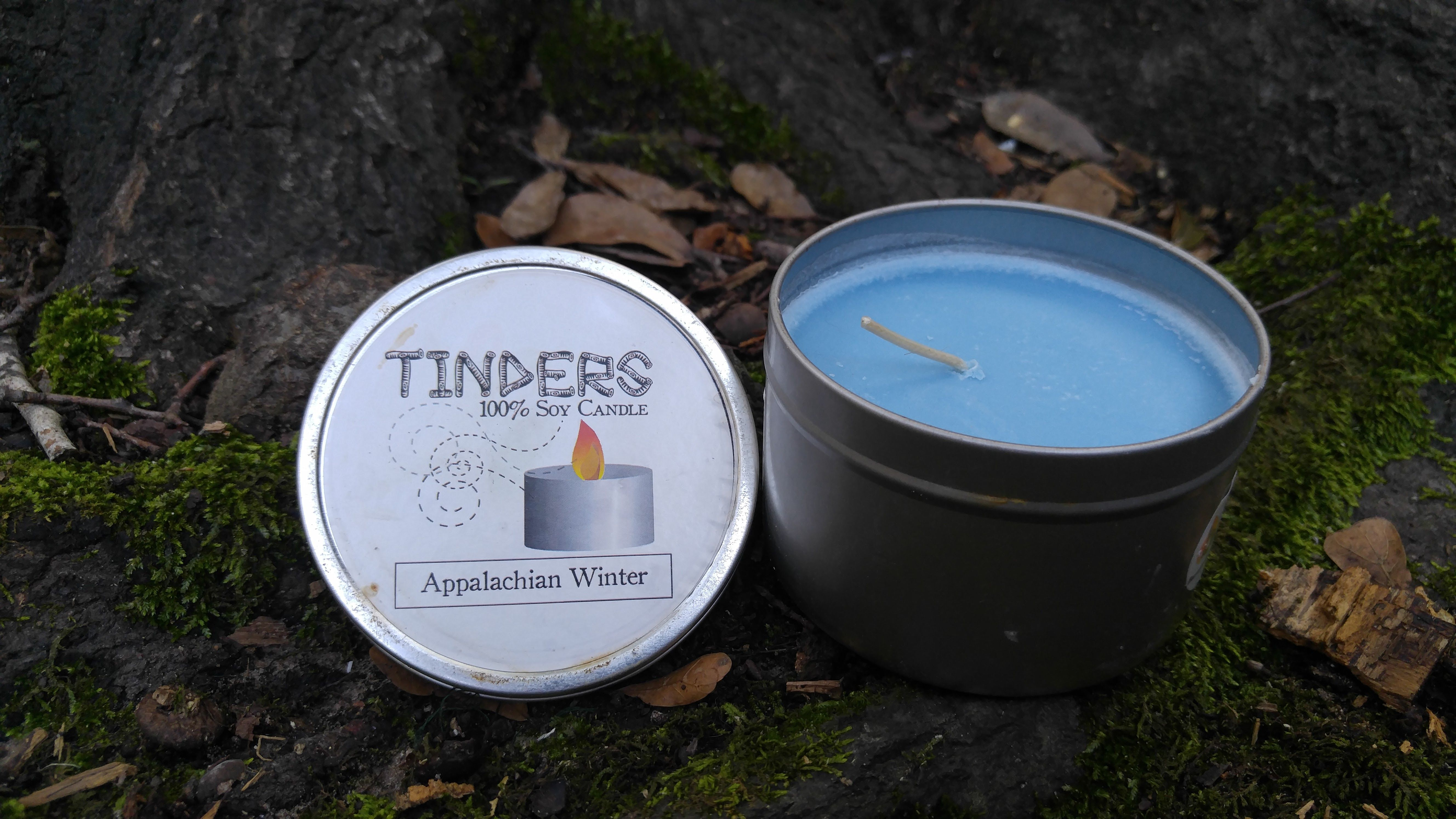 Appalachian Winter Tinders Soy Candle