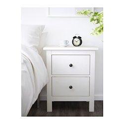 Two Drawer Nightstand Ikea White Bedside Table Drawers