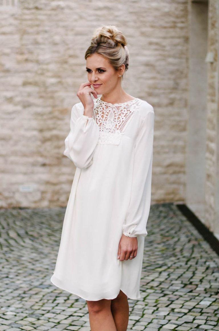 Brautkleider kurz, lässig & frech | Hochzeitskleid vintage ...