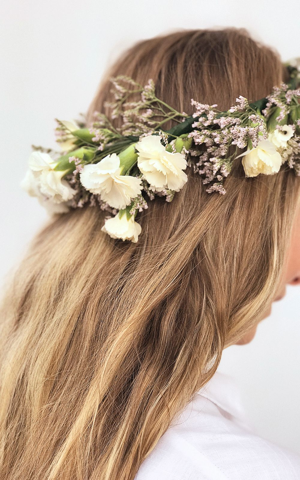 How to make swedish flower crowns flower crowns crown and flower we love this flower crown how to use it to celebrate swedish mid summer for your wedding or just for fun izmirmasajfo