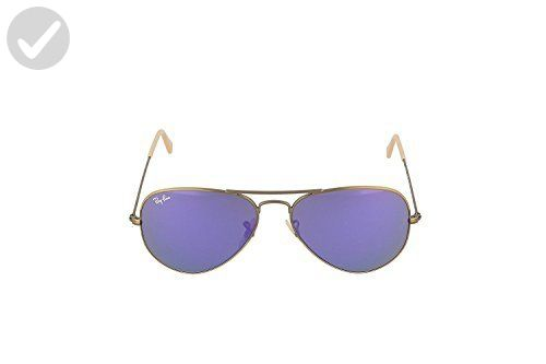 58fb19d095103 Ray-Ban 3025 Aviator Large Metal Mirrored Non-Polarized Sunglasses ...
