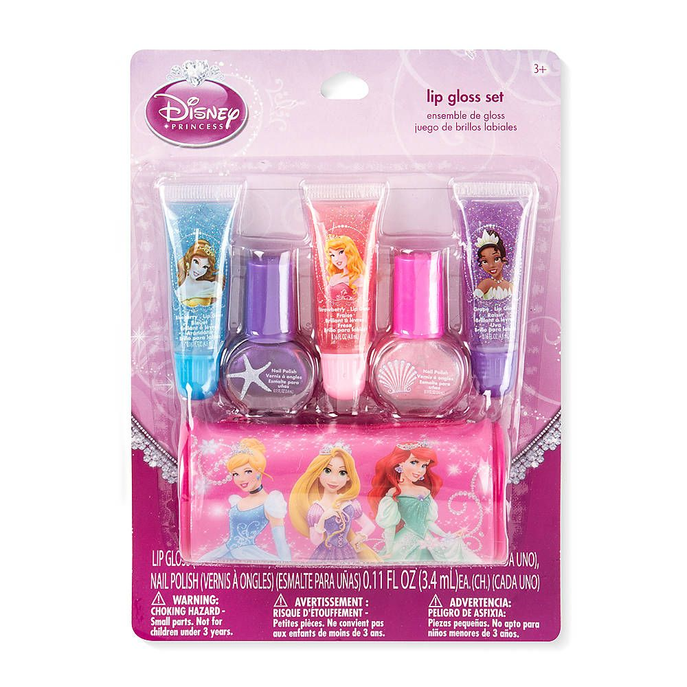 ce6cbfe7ee31 Disney Princess Lip Gloss and Nail Polish Set | THE BEST OF CLAIRE'S ...